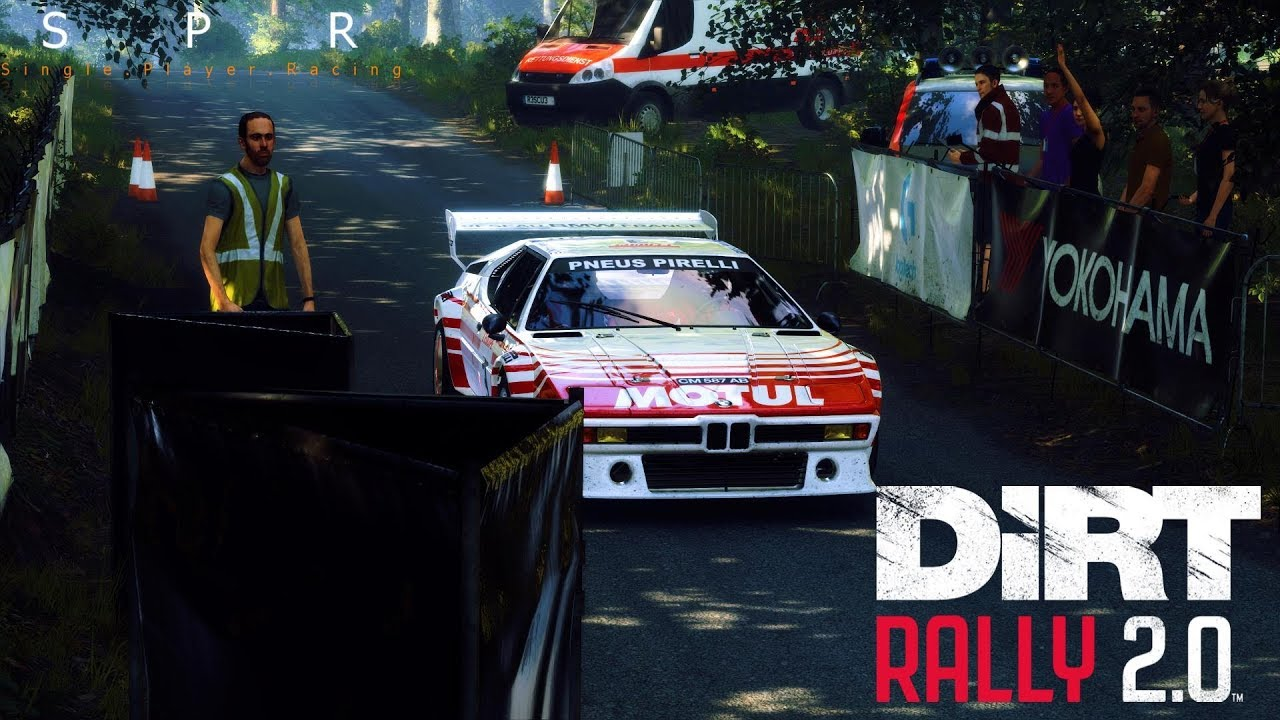 Dirt Rally 2.0: 1982 BMW M1 Procar Rally Waldaufstieg Rally Sprint | Xbox One X