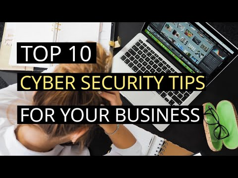 Top 10 Cyber Security tips for your business