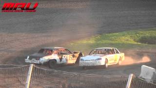 Hobby Stock Feature at Raceway Park on August 1st, 2015