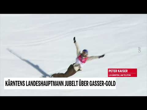 Kärntens Landeshauptmann jubelt über Gasser-Gold