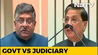 Government vs Judiciary Rift Out In The Open?