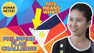 philippine flag challenge 2018 how many colors are on it? humanmeter