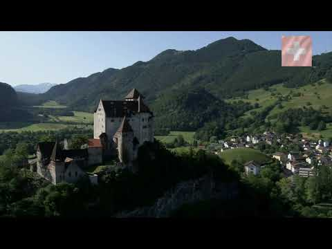 [10 Hour Docu] Flying over Switzerland #2 - MUSIC [1080HD] SlowTV