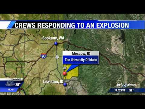 Four injured in explosion on University of Idaho campus