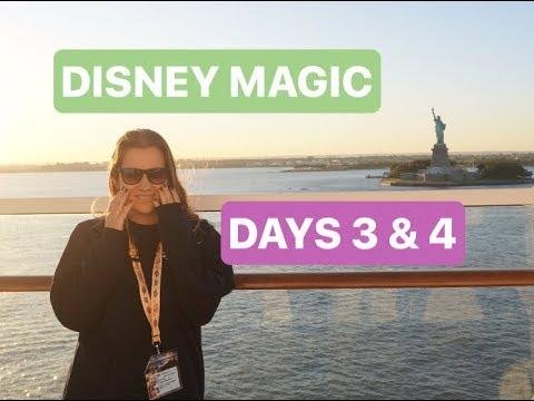 Disney Cruise Line 2017 | Disney Magic Canadian Coast | Part 2