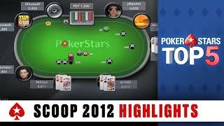Top 5 Poker Moments - SCOOP 2012 | PokerStars.com