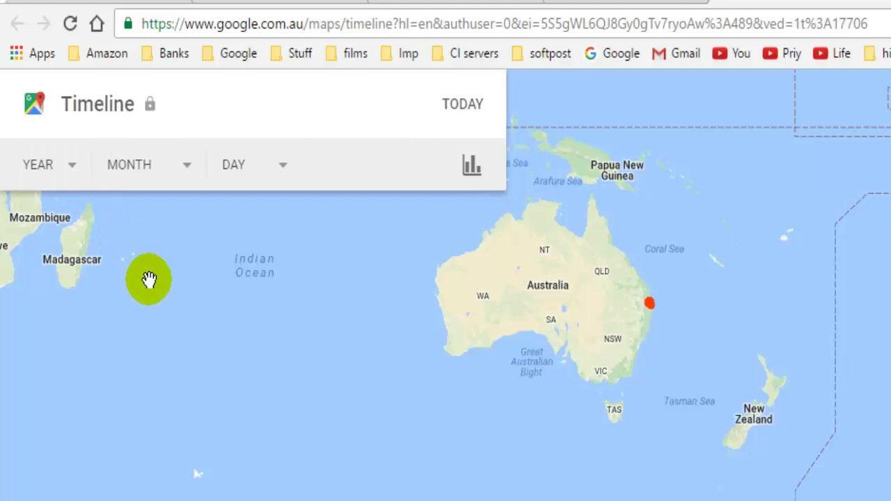 Clear Map Of Australia.How To Clear History In Google Maps