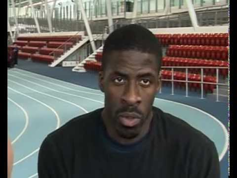 Dwain Chambers talks about his training schedule's