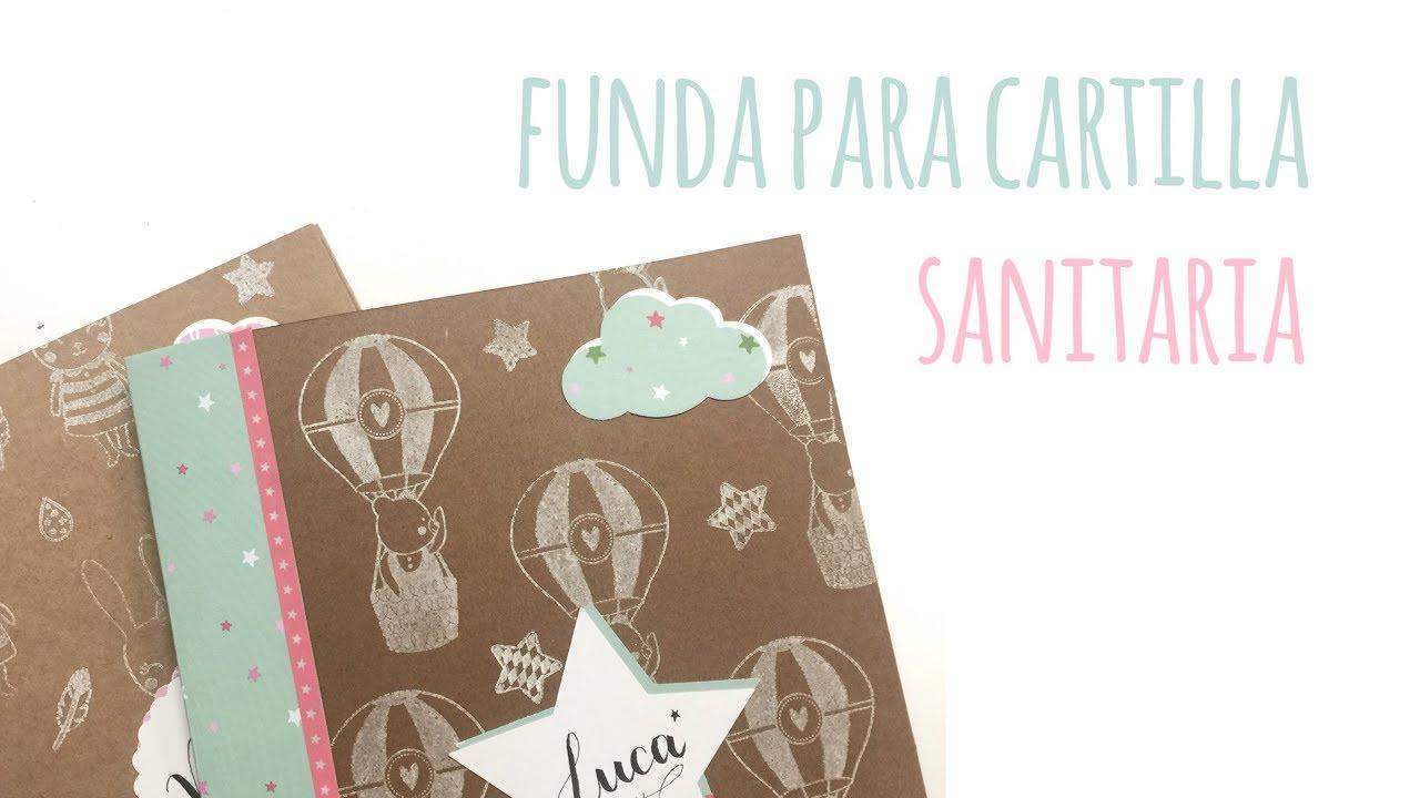 Libro de Nacimiento Funda para cartilla Sanitaria Rosa S /& B Portadocumentos beb/é
