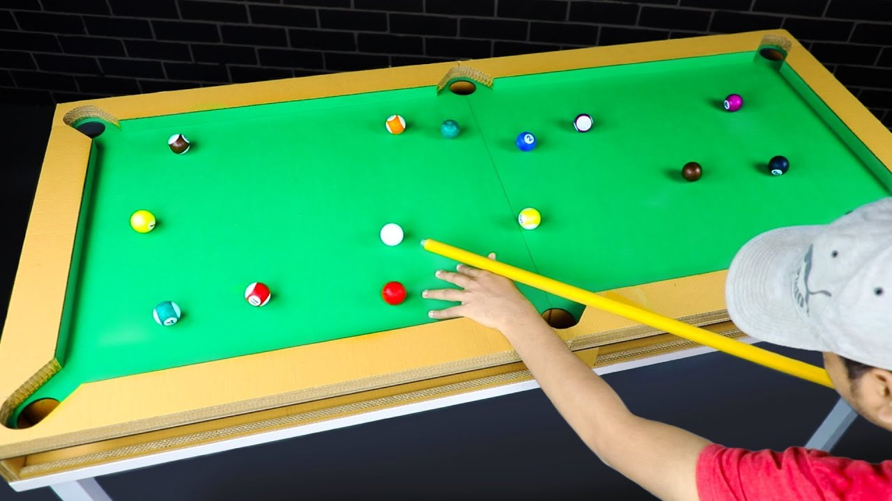 How To Build Your Own Pool Table 🎱