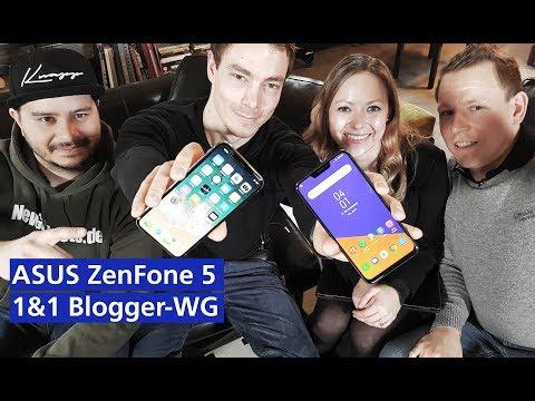 ASUS ZenFone 5 in der 1&1 Blogger-WG (deutsch HD)