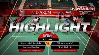 Christofel P/Jessica P (Mentari RBT) VS Tri K/Suci Rizki (Exist Jakarta/Mutiara Cardinal Bandung)