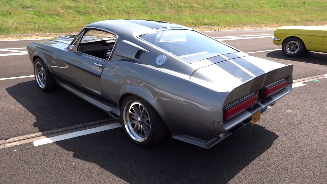 1967 Ford Shelby Mustang GT500 Eleanor Exhaust Rev London