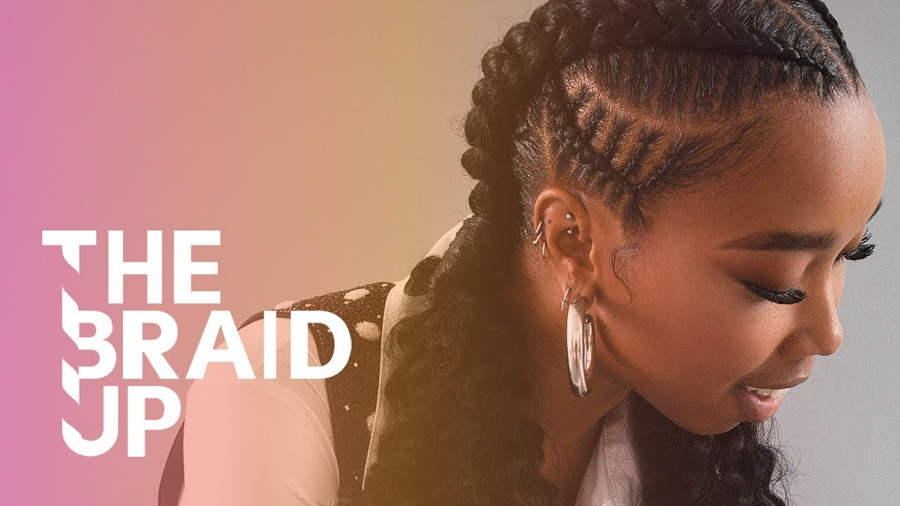 Download Double Stitch Braids with Curls  | The Braid Up | Cosmopolitan