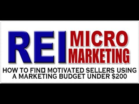 Micro Marketing for Real Estate Investors