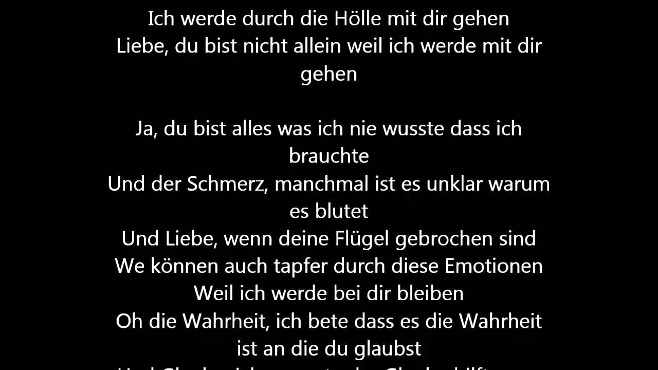 Rachel Platten Stand By You Deutsche Ubersetzung German Lyrics Youtube