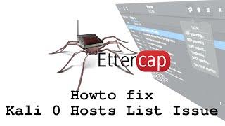howto build Ettercap in Debug Mode on Kali