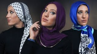 1 Woman 7 Hijab Styles
