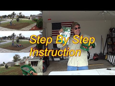 Do It Yourself - Lawn Overseeding - Scott's Turf Builder Grass Seed