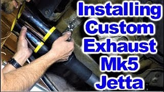 Installing Monza Chrome Dual Exhaust Tips on MK5 VW Jetta