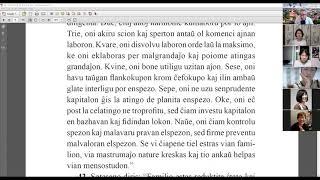 25 | La Sotesana Instruo de Ŭonbulismo | 에스페란토 원불교 대종경 공부 (zoom)
