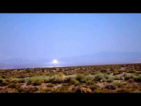 Strange Light in Nevada Desert