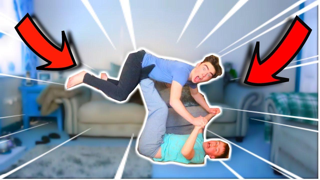 Extreme Yoga challenge Hilarious - YouTube