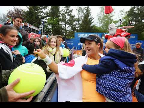 The WTA Tours Busiest Player Is a Globe Trotting Mom