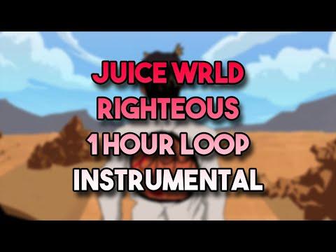 Juice WRLD - Righteous (1 Hour Loop - Instrumental) *RIP Juice*