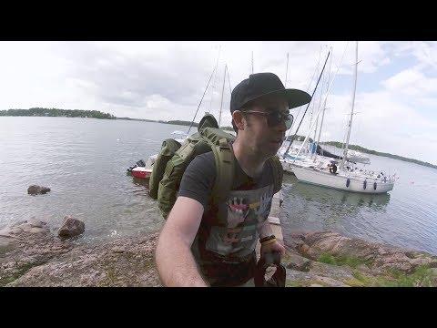 Motor Boat Island Camping