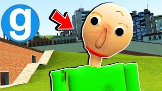 Brand New Baldi's Basics in Education and Learning in Gmod - (Garry's Mod Sandbox Funny Moments)