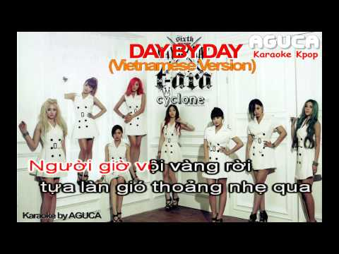 [Karaoke Việt] DAY BY DAY - T-ARA