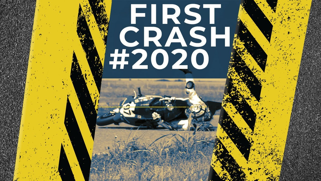 The first crash for #2020