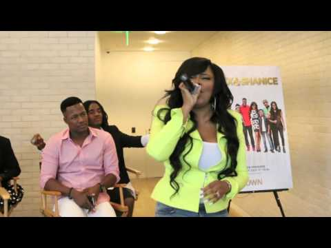Shanice (Flex and Shanice) Shares new Song at The OWN Studios