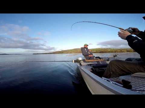 Trolling For Pike - Lough Derg, Ireland