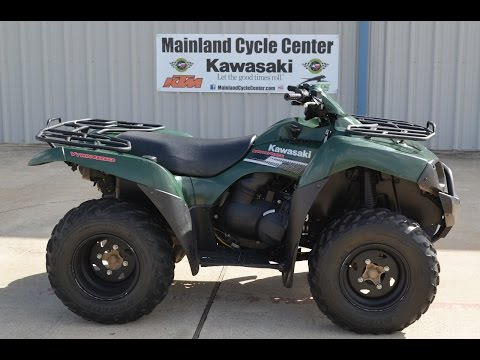 2007 Kawasaki Brute Force 650 4x4 SRA Overview and Review SOLD - YouTube