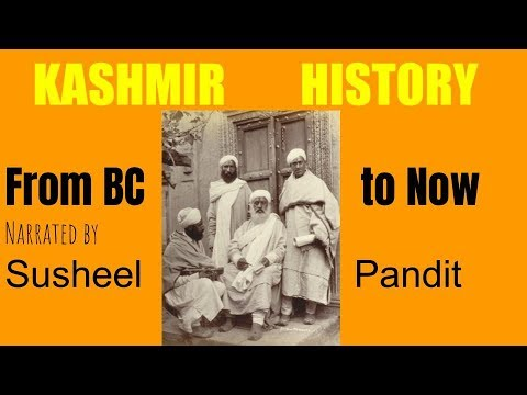 Kashmir History illustrated by Susheel Pandit at IIT Madras