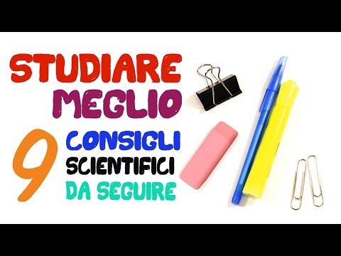 9 consigli scientifici per STUDIARE MEGLIO