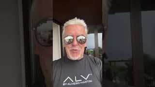 Il saluto di Alviero Martini al Molise