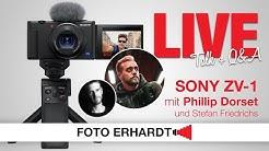Foto Erhardt LIVE - Sony ZV-1 mit Phillip Dorset