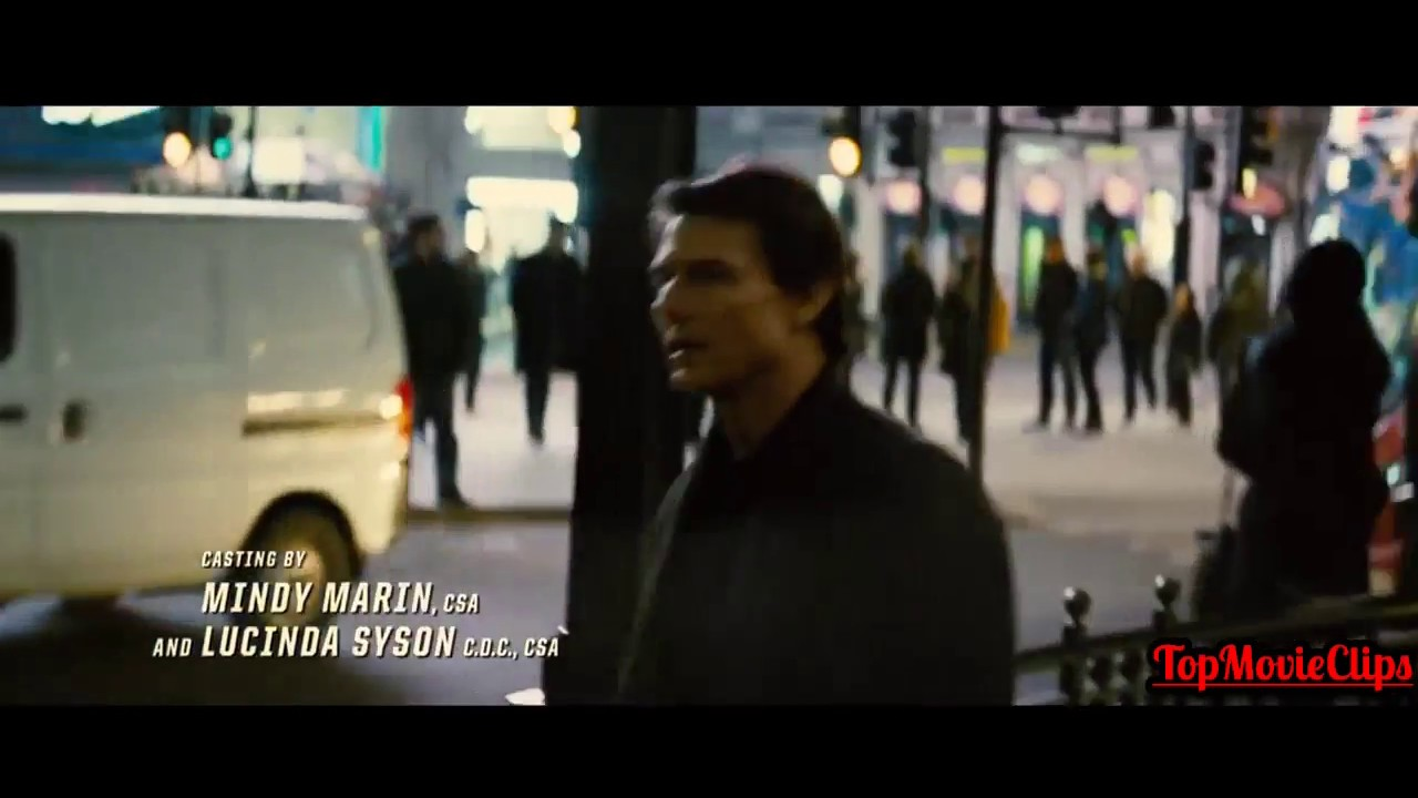 Mission Impossible 5 Rogue Nation Record Shop Scene