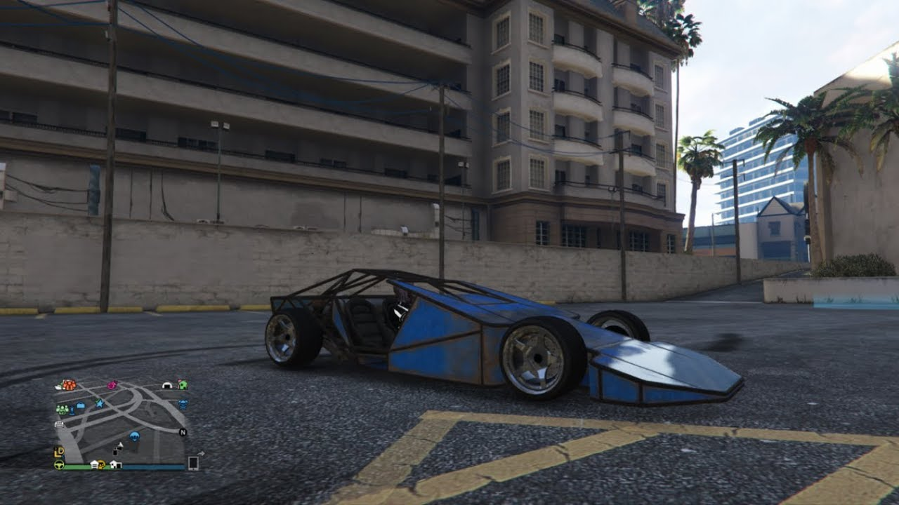 gta 5 online 3 diff modded vigilantes & modded ramp buggy by