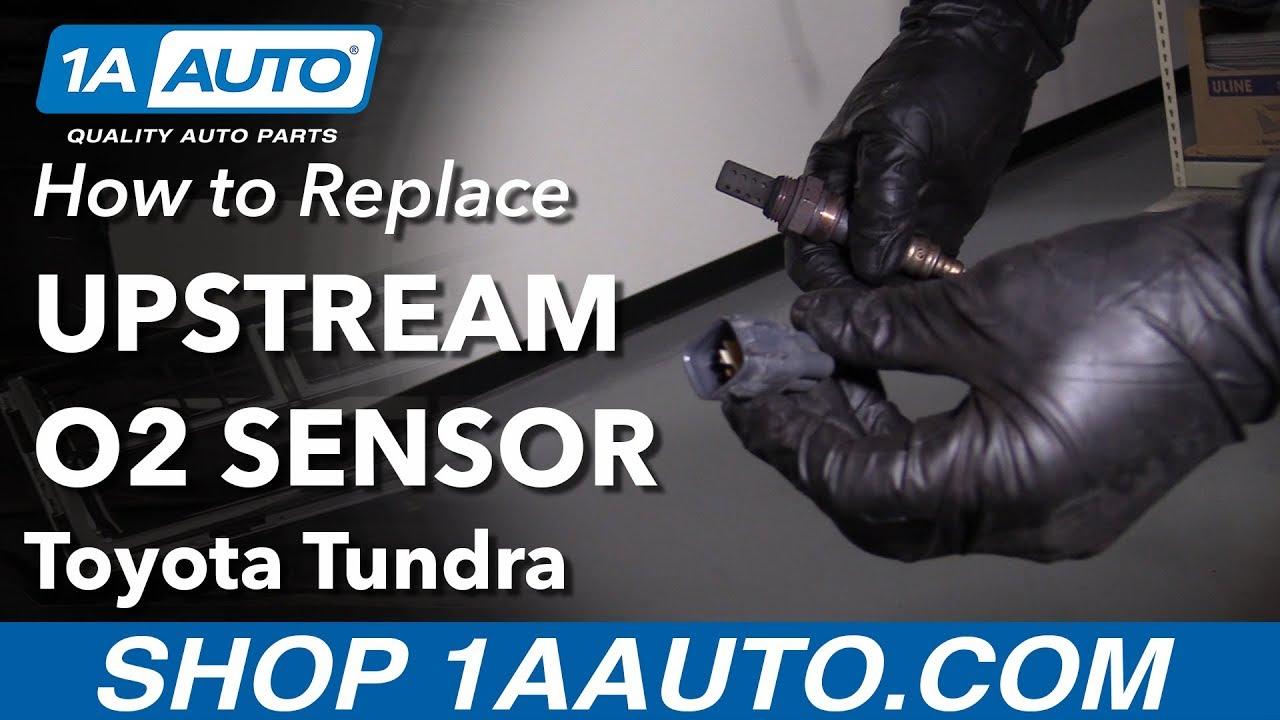 How To Replace Upstream O2 Sensor 00 06 Toyota Tundra Youtube
