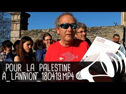FRANCE PALESTINE SOLIDARITÉ TRÉGOR S'ADRESSE AU DÉPUTÉ BOTHOREL / Lannion - 19 avril 2018