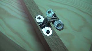 Hinge Jig. Hidden Hinge. Woodworking Jig For Router.