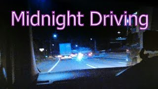 ASMR 癒し系 眠くなる音 43 Binaural Sleepy sound 43 Midnight Driving