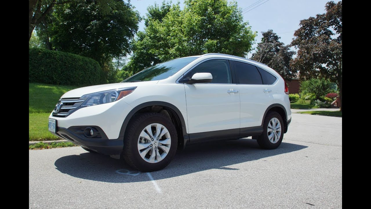 2013 Honda CR V Touring Review   YouTube