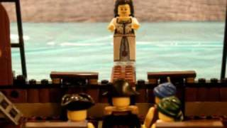Lego Pirates - Sinking The Ship