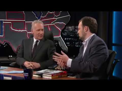 Bill Maher vs  Ross Douthat