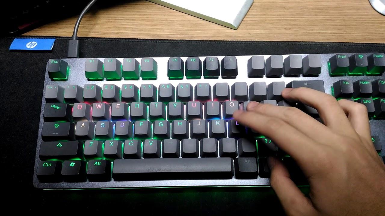 Massdrop CTRL Keyboard RGB Ripple (applicable to other QMK)